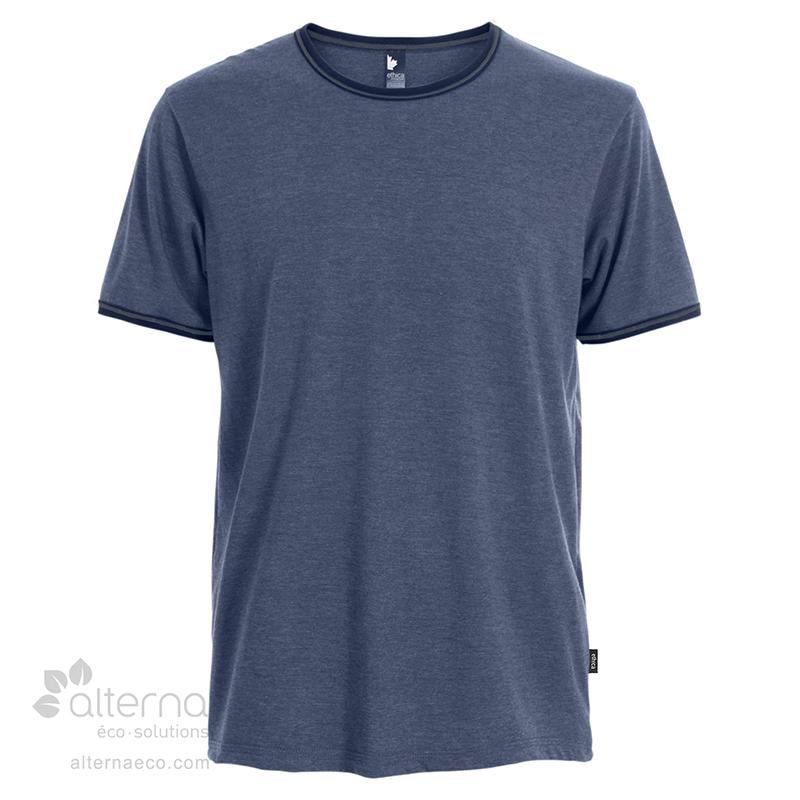 T-shirt en coton bio fabriqué au Québec (Canada) en usine syndiquée.