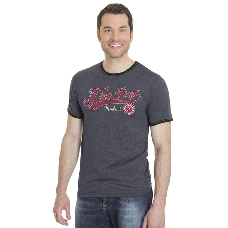 T-shirt en coton bio unisexe 2 tons. Fabriqué au Québec en usine syndiquée.