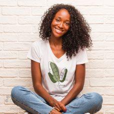 T-shirt en coton bio fabriqué au Québec