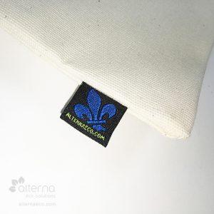 Sac réutilisable en coton naturel fabriqué au Québec