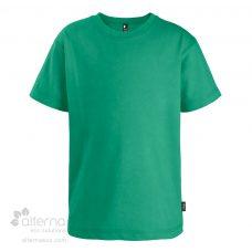 T-shirt en coton bio pour jeune fabriqué au Québec (Canada) en usine syndiquée.