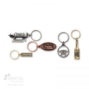 Porte-clés en métal économique