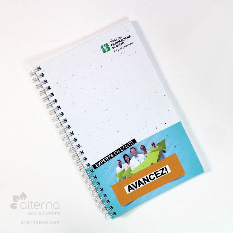 Carnet de notes. Journal avec Couverture en Papier Ensemence