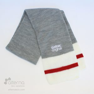 Foulard à rayures, Foulard à rayures, style bas de laine