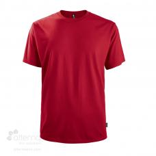 T-shirt en coton bio pour homme avec col rond fabriqué et identifié au Québec en usine syndiquée.