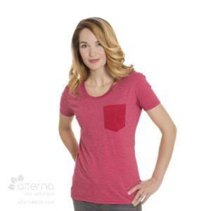 T-shirt pour femme en coton bio fabroqué au Québec, made in Canada.