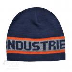 Bonnet en tricot jacquard avec logo