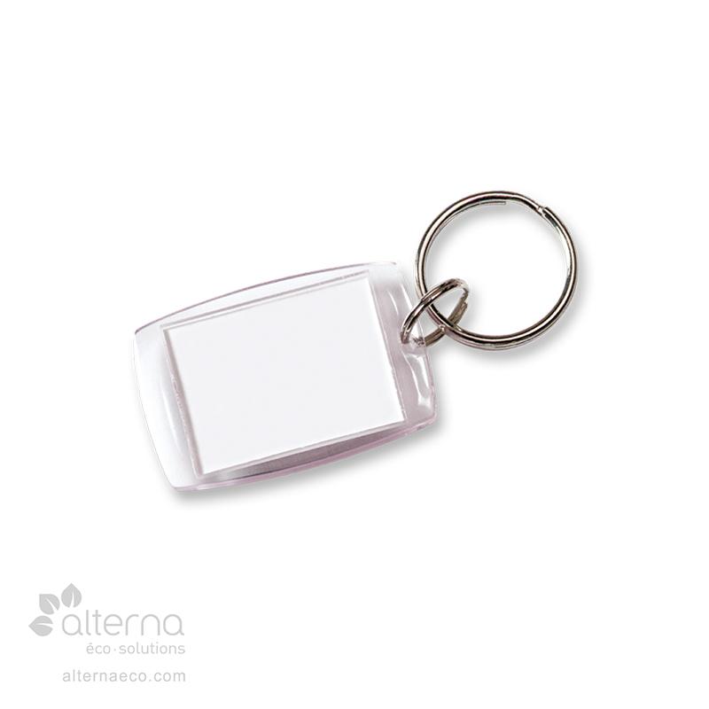 Porte-clés avec vitre