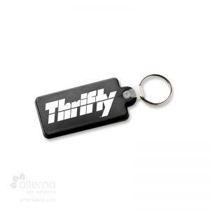 Porte-clés flexible rectangle