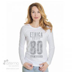Chandail en coton Bio pour femme fabriqué au Québec (Canada)