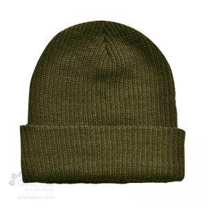 Tuque à rebord en tricot shaker