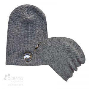 Bonnet long en tricot shaker