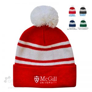 Tuque université 2 tons