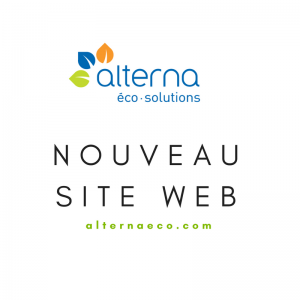 Nouveau site web Alterna éco-solutions
