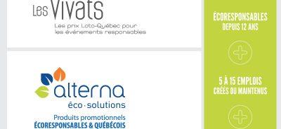 Vivats 2017, Alterna est finaliste aux Vivats 2017 !
