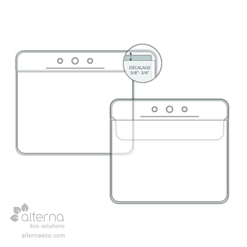 Porte-identité fabriqué au Québec, Canada