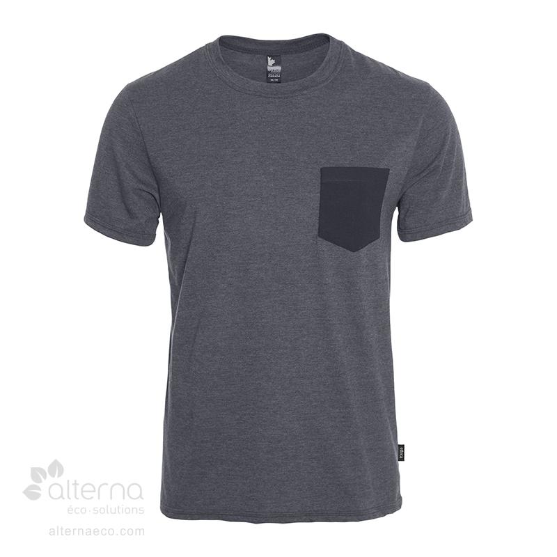 T-shirt a poche en coton bio