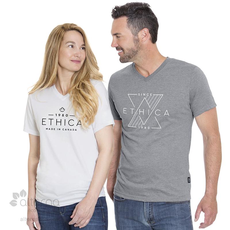 T-shirt en coton Bio unisexe fabriqué au Québec (Canada)