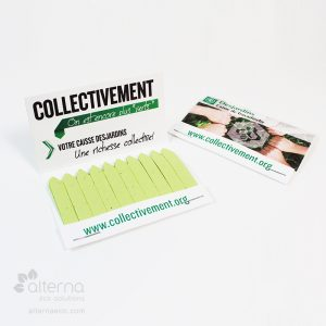 Tiges d'allumettes pour le jardin ensemencées fabriquées au Canada