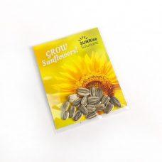 Sachet de semences de tournesol