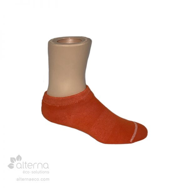 Bas invisibles en coton fabriqués entièrement sur mesure à Montréal, au Québec, Canada.