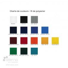 Bas en polyester - charte de couleurs