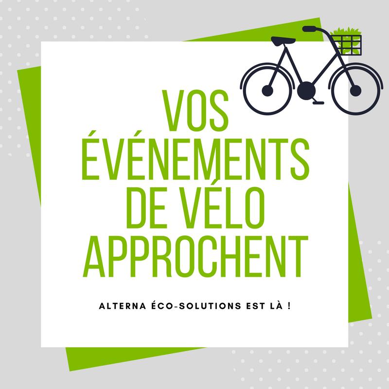 Article pour vos événements de vélo