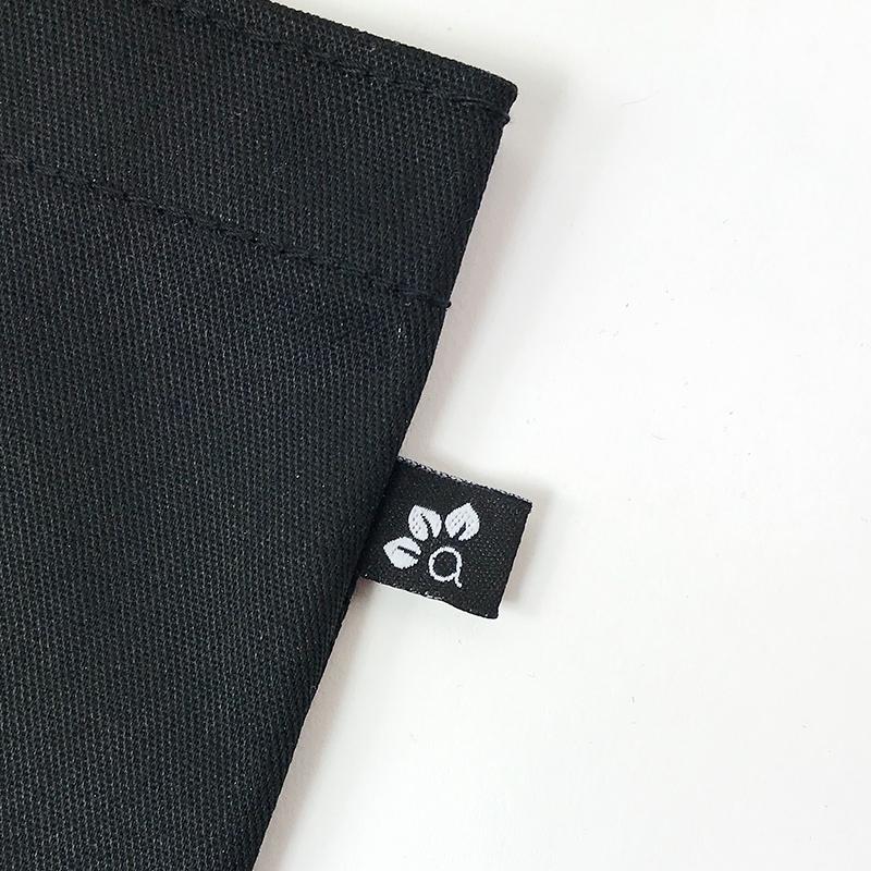 sac réutilisable en poly-coton,