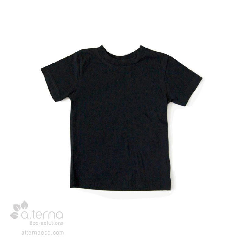 T-shirt pour enfant en coton bio fabriqué au Québec