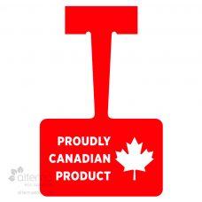 Affichette / Affiche pendante fabriquée au Québec
