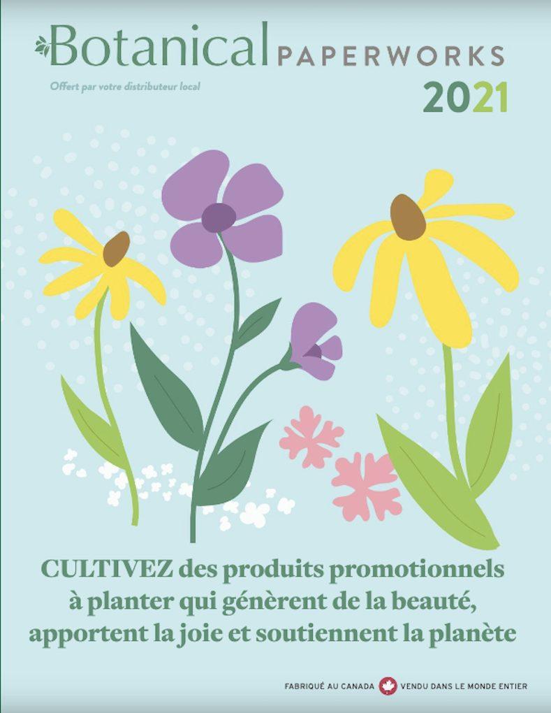 Catalogue papier ensemencé 2021
